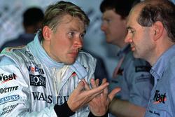 Mika Hakkinen, Adrian Newey, McLaren