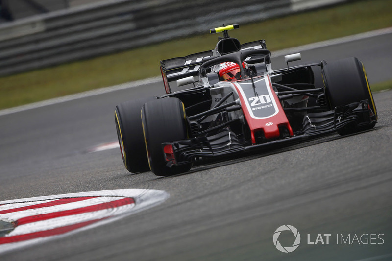 10. Kevin Magnussen, Haas F1 Team VF-18 Ferrari