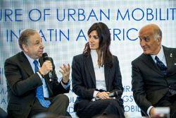 Jean Todt, FIA President, Virginia Elena Raggi, Mayor of Rome, Angelo Sticchi Damiani, President of