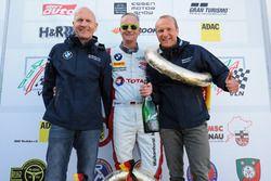 Podium: #36 Walkenhorst Motorsport BMW M6 GT3: Rudi Adams, Henry Walkenhorst, Andreas Ziegler