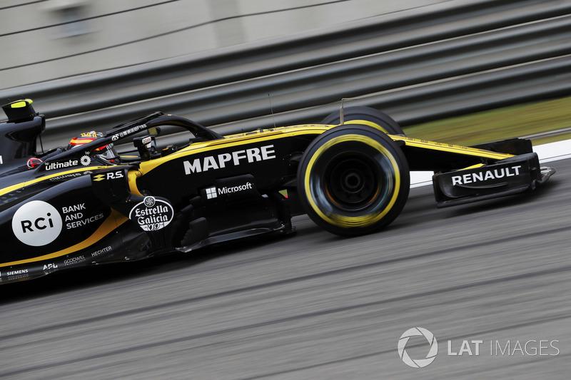 8. Carlos Sainz Jr., Renault Sport F1 Team R.S. 18