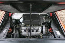 Il motore della Ferrari 308 GTS 1978 di Gilles Villeneuve