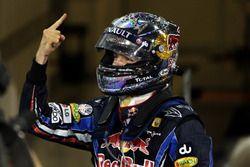 Race winner and World Champion Sebastian Vettel, Red Bull Racing