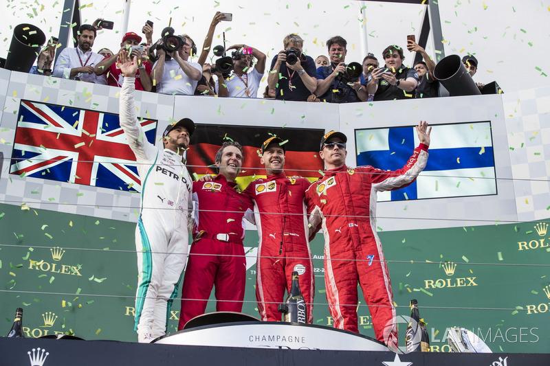 Себастьян Феттель, Гран При Австралии 2018 года. Сотый подиум