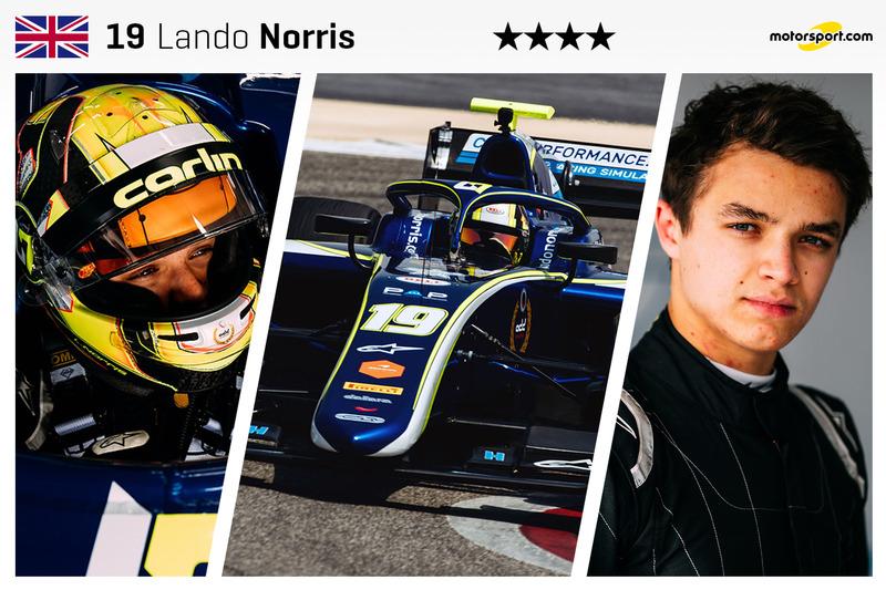 Lando Norris - 18 yaş