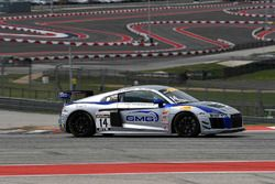 GMG Racing Audi R8 LMS GT4: James Sofronas, Alex Welch