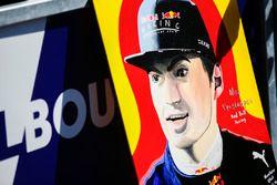 Tekening van Max Verstappen, Red Bull Racing