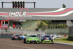 Partenza: Diego Bertonelli, Dinamic Motorsport al comando