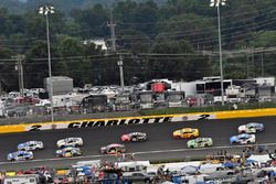 Ricky Stenhouse Jr., Roush Fenway Racing, Ford Fusion Fastenal and Alex Bowman, Hendrick Motorsports, Chevrolet Camaro Nationwide