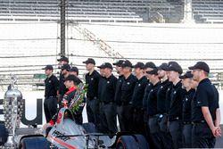 El ganador: Will Power, Team Penske Chevrolet
