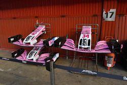 Force India VJM11 : nez et aileron avant