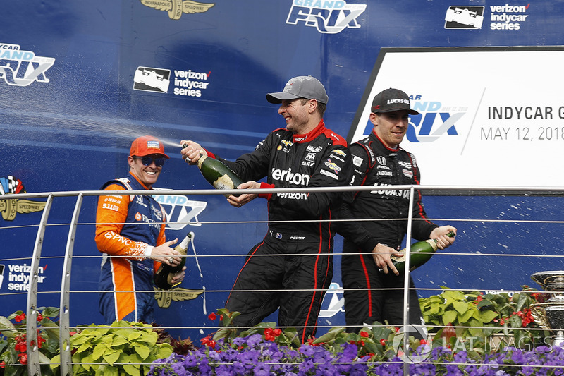 Scott Dixon, Will Power, Robert Wickens