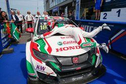 Yarış Galibi Tiago Monteiro, Honda Yarış Takımı JAS, Honda Civic WTCC
