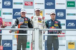 Podium: Anthoine Hubert, Van Amersfoort Racing Dallara F312 - Mercedes-Benz, Lance Stroll, Prema Powerteam Dallara F312 – Mercedes-Benz