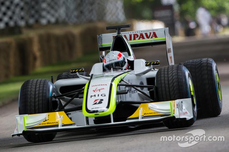 Brawn-Mercedes BGP 001 - Martin Brundle