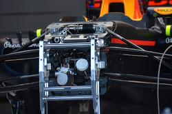 Détail du nez de la Red Bull Racing