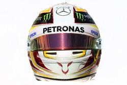 Le casque de Lewis Hamilton, Mercedes AMG F1