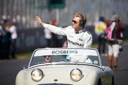 Nico Rosberg, Mercedes AMG F1 Team during the drivers parade