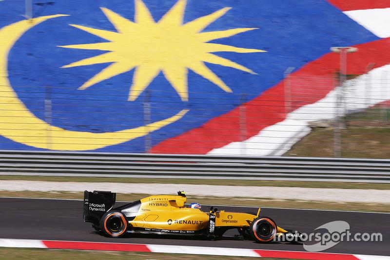 19: Джолион Палмер, Renault Sport F1 Team RS16