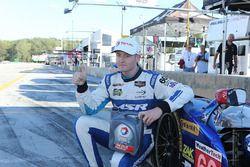 Polesitter #60 Michael Shank Racing with Curb/Agajanian Ligier JS P2 Honda: John Pew, Oswaldo Negri Jr., Olivier Pla