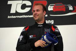 Podium: Race winner Kevin Gleason, Honda Civic TCR, West Coast Racing
