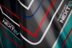 Detalle del coche de NEXTEV TCR Formula E Team
