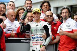 Tweede plaats Francesco Bagnaia, Aspar Team Mahindra