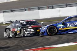 Crash, Timo Scheider, Audi Sport Team Phoenix, Audi RS 5 DTM und Gary Paffett, Mercedes-AMG Team ART