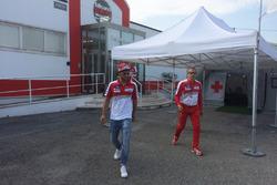 Andrea Iannone, Ducati Team sale del centro médico