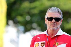 Maurizio Arrivabene, director del equipo, Scuderia Ferrari