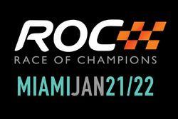 Logotipo para la Carrera de Campeones Miami que tendrá lugar el 21 de enero y 22 2017 en Marlins Par