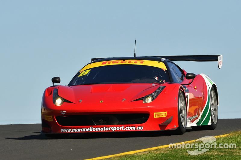 #8 Maranello Motorsport, Ferrari 488 GT3: Adrian Deitz, Cameron McConville