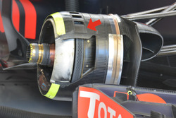 Red Bull Racing RB12, rem detail