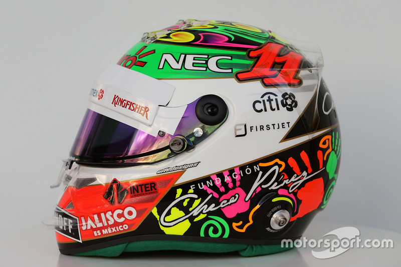 Mexique 2016 - Sergio Pérez, Force India