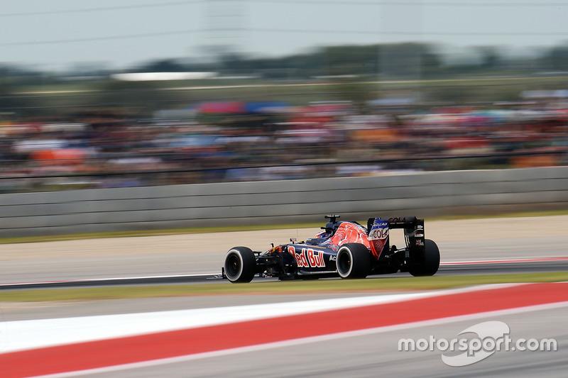2016 год. За рулем болида Toro Rosso STR11 в гонке