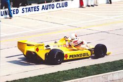 Johnny Rutherford mit Tim Richmond