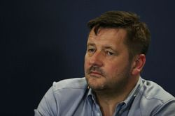 Paul Hembery, Pirelli Motorsport Director in the press conference