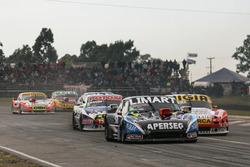Nazareno Lopez y Esteban Gini, Nero53 Racing Torino, Martin Basso driving Martin Serrano, Coiro Dole