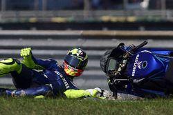 Chute de Valentino Rossi