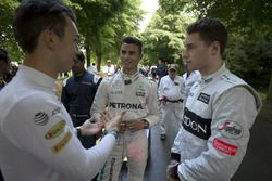 Pierre Gasly, Red Bull Racing, Pascal Wehrlein, Mercedes and Stoffel Vandoorne, McLaren