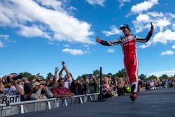 Podium: Bruno Senna, Mahindra Racing