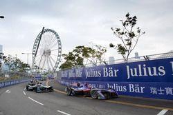 Jose Maria Lopez, DS Virgin Racing; Mitch Evans, Jaguar Racing