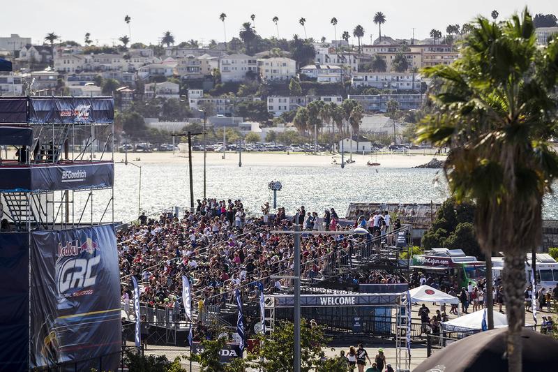 Ambiance du quartier de San Pedro à Los Angeles