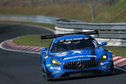 Bernd Schneider, Maro Engel, Adam Christodoulou, Manuel Metzger, Black Falcon, Mercedes AMG-GT3