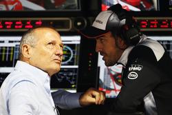 Ron Dennis, McLaren Executive Chairman en Fernando Alonso, McLaren