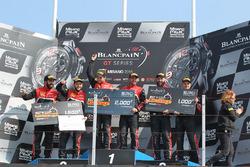 Les vainqueurs de l'arrêt aux stands le plus racing