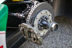 Detailaufnahme eines Formel-E-Autos