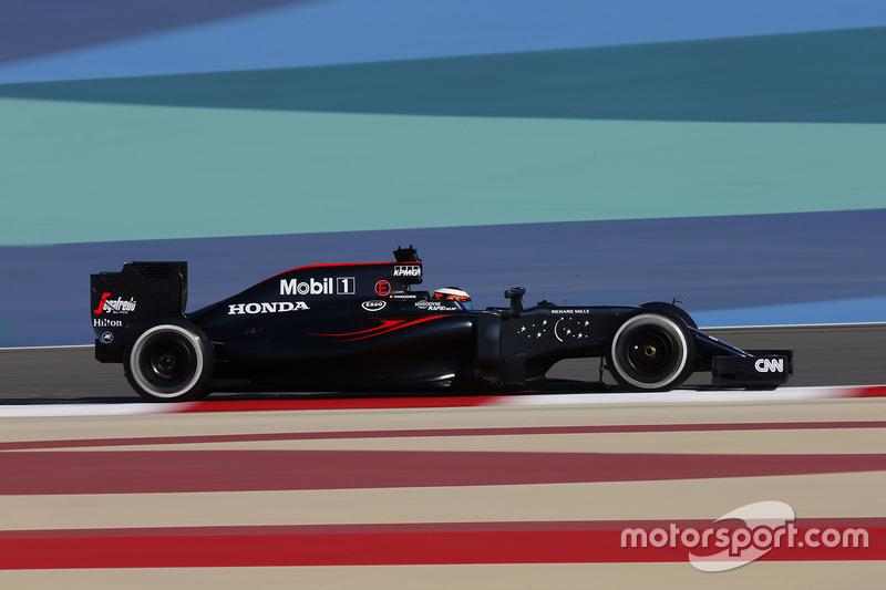 Stoffel Vandoorne - GP de Bahrein 2016 (10º)