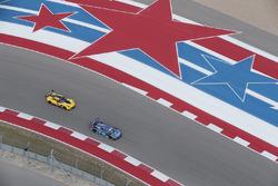 #90 VisitFlorida.com Racing Corvette DP: Marc Goossens, Ryan Dalziel, #4 Corvette Racing Chevrolet Corvette C7.R: Oliver Gavin, Tommy Milner