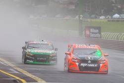 Garth Tander and Warren Luff, Holden Racing Team, Cameron Waters and Jack Le Brocq, Prodrive Racing Australia
